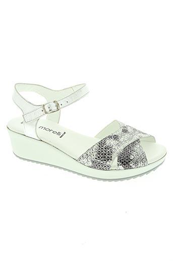 ilario morelli chaussures femme de couleur gris