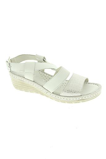 Sandales/Nu pieds blanc FLORANCE pour femme