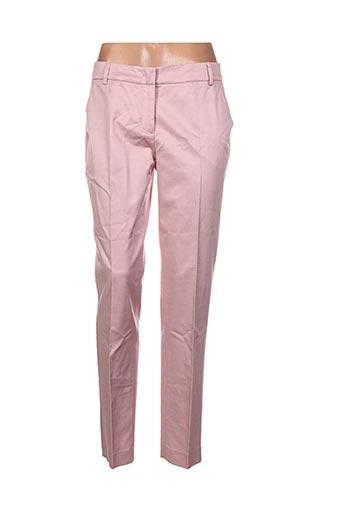 Pantalon chic rose BLUE LES COPAINS pour femme