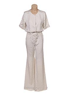 Combi-pantalon beige MAXMARA pour femme