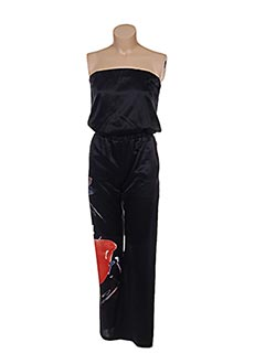 Combi-pantalon noir PATRIZIA PEPE FIRENZE pour femme