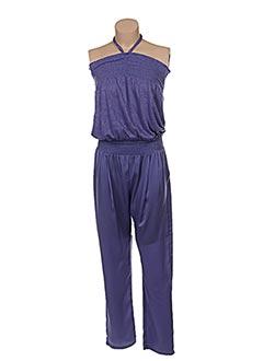 Combi-pantalon violet PATRIZIA PEPE FIRENZE pour femme