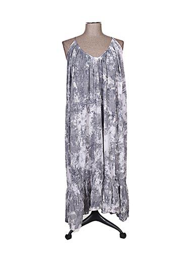 Robe longue gris BAKKER pour femme