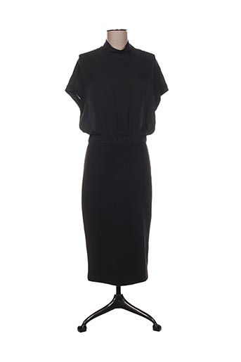 Robe longue noir BY MALENE BIRGER pour femme