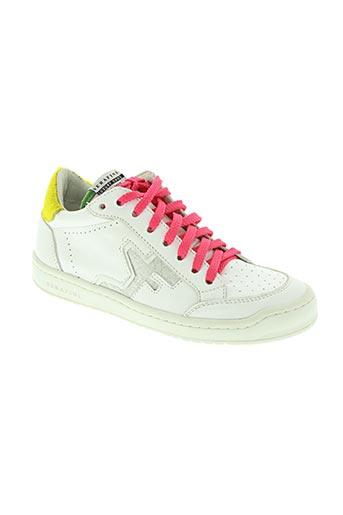 serafini chaussures femme de couleur blanc