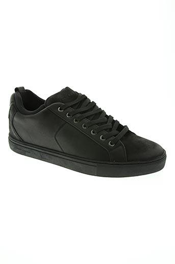 crime london chaussures homme de couleur noir
