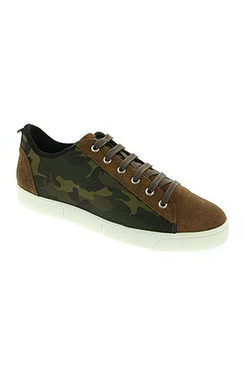 wos (walk on scales) chaussures homme de couleur vert