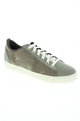 wos (walk on scales) chaussures homme de couleur bleu