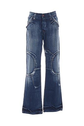 Jeans coupe large bleu COSTELLO pour homme