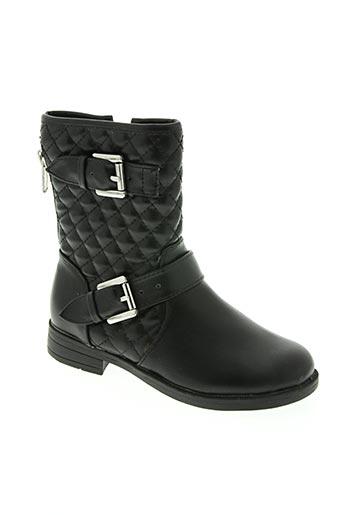 sk8 chaussures fille de couleur noir