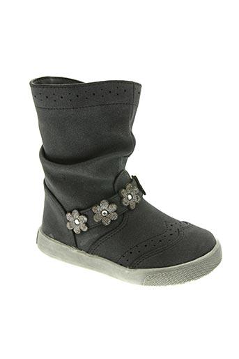 nucci kids chaussures fille de couleur noir