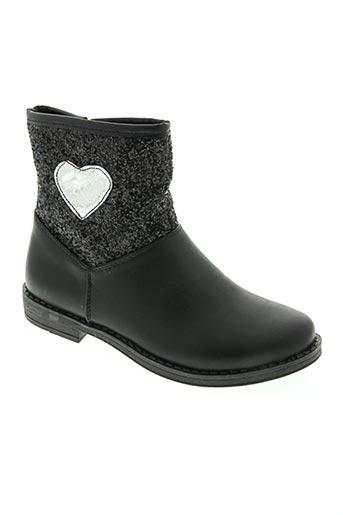 happy bee chaussures fille de couleur noir