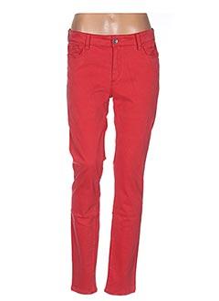 Pantalon casual rouge COUTURIST pour femme