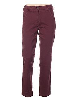Pantalon casual violet COUTURIST pour femme