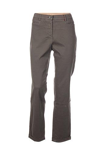 Pantalon 7/8 gris COUTURIST pour femme