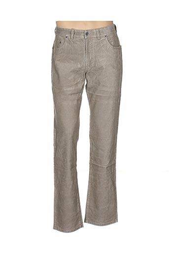 Pantalon casual beige COUTURIST pour homme