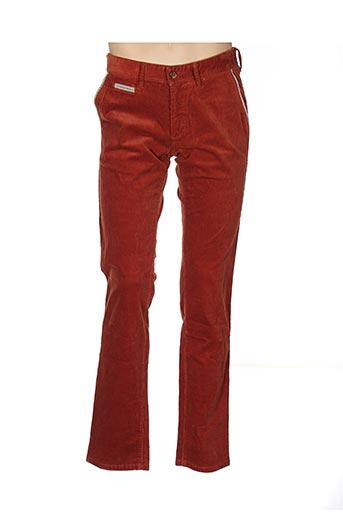 Pantalon casual orange COUTURIST pour homme