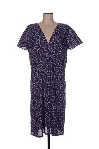Robe mi-longue violet GAËLLE BARRE pour femme