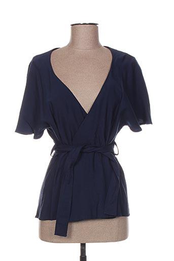 Veste casual bleu GAËLLE BARRE pour femme