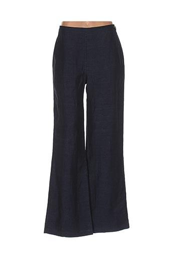 Pantalon casual bleu BRIC-A-BRAC pour femme