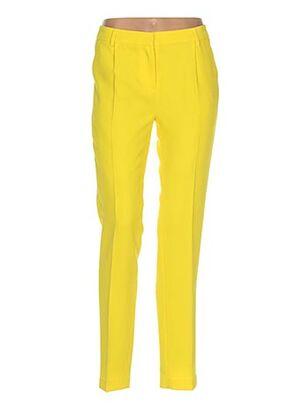 Pantalon chic jaune EDITH ET ELLA pour femme