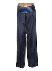 Pantalon chic bleu INTROPIA pour femme seconde vue