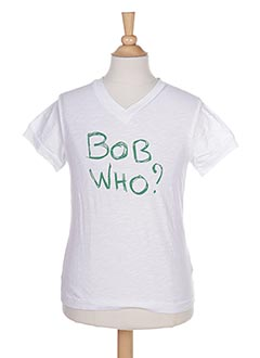T-shirt manches courtes vert BOB SINCLAR pour garçon