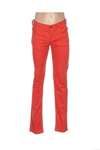 8e351ceb86aa50 TIFFOSI Pantalons Pantalons casual de couleur orange en soldes pas cher  1276131-orange - Modz