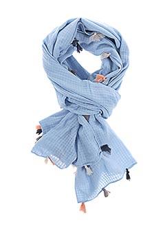 Foulard bleu BECK SONDERGAARD pour femme