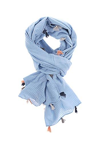 1274655 Soldes Sondergaard Accessoires Pas Beck Bleu00 En Modz Couleur De Cher Foulards Bleu KTlFJ1c3