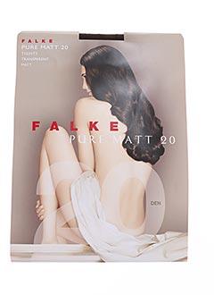 Collants marron FALKE pour femme