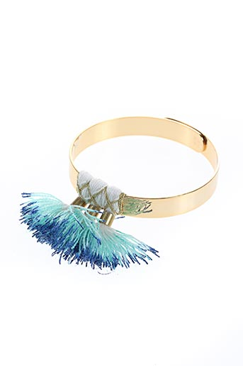 Bracelet Jonc bleu CHERIE SHERIFF pour femme