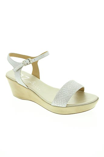 bz bis chaussures femme de couleur gris