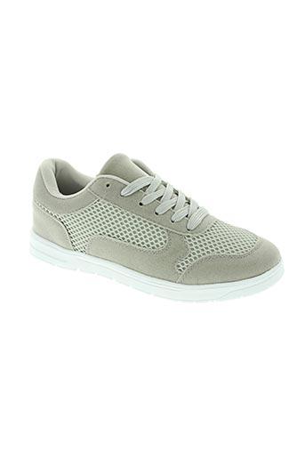 dt new york chaussures homme de couleur gris