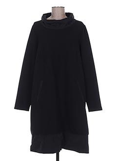 Robe mi-longue noir FLIRT pour femme