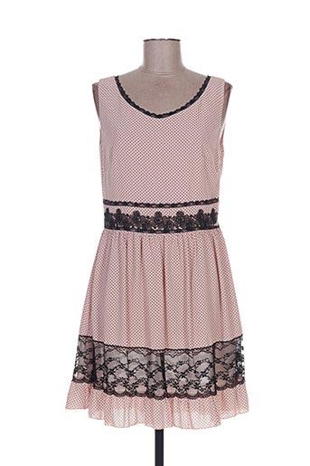 Robe courte rose FLY GIRL pour femme