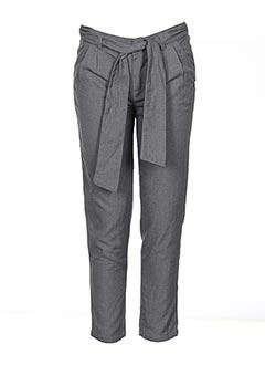 Pantalon casual gris CARREMENT BEAU pour fille