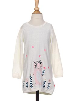 Robe pull blanc BILLIEBLUSH pour fille