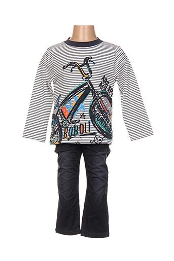 Top/pantalon gris BOBOLI pour garçon