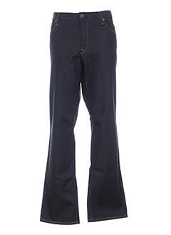Jeans coupe droite bleu CERUTTI pour homme