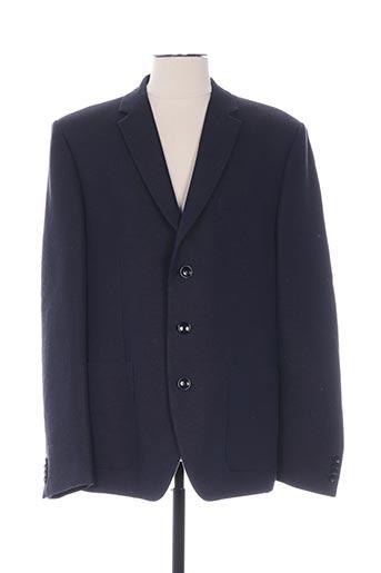 Veste casual bleu BRUUNS BAZAAR pour homme