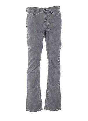 Pantalon casual gris CERUTTI pour homme