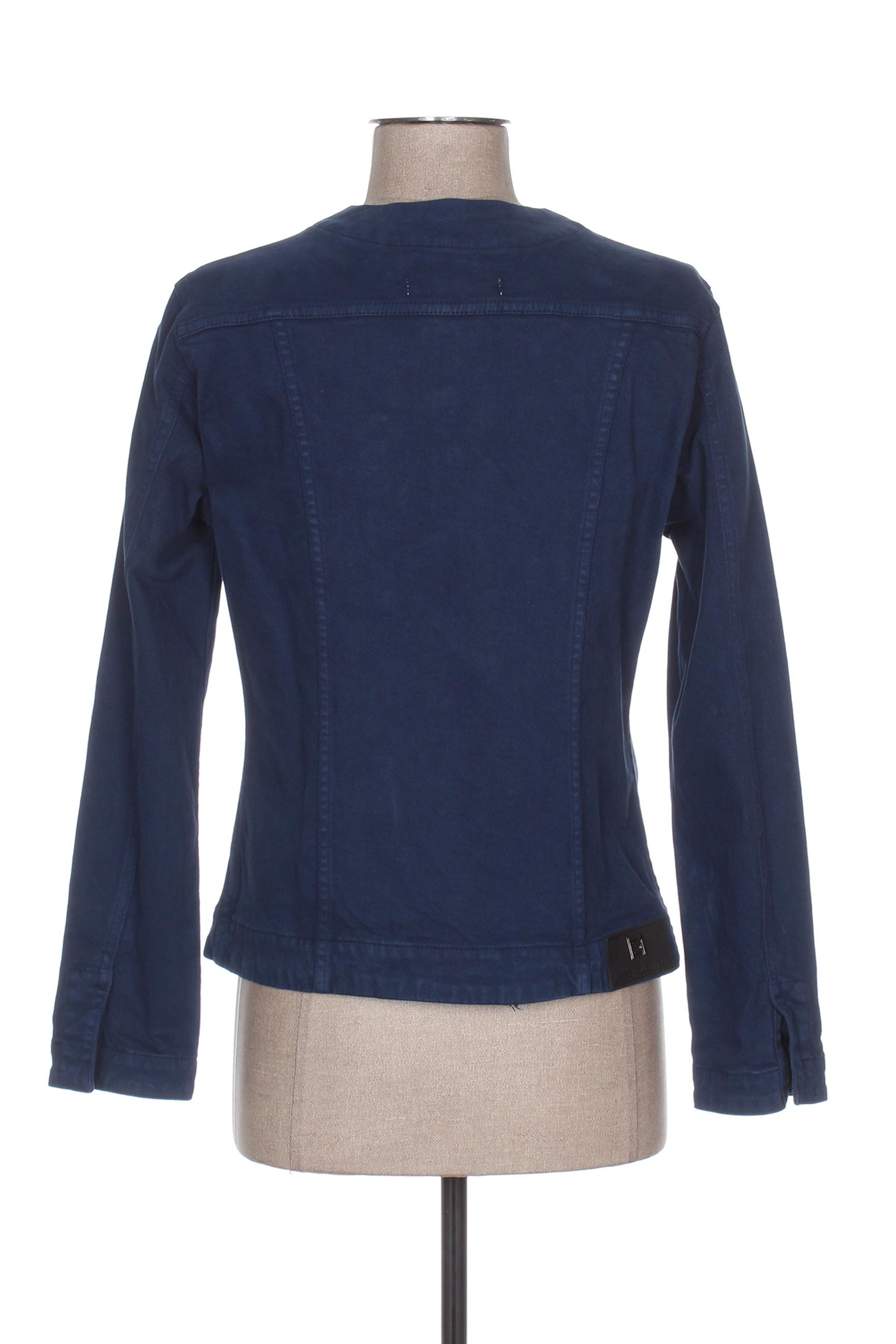 Mensi Collezione Vestesenjean Femme De Couleur Bleu En Soldes Pas Cher 1283688-bleu00
