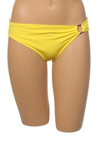 Bas de maillot de bain jaune DORINA pour femme
