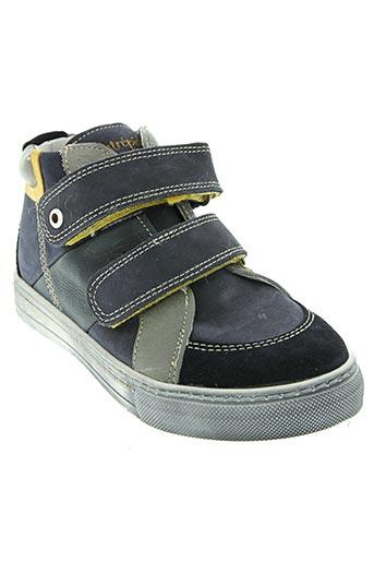 intrepides par babybotte chaussures garçon de couleur gris