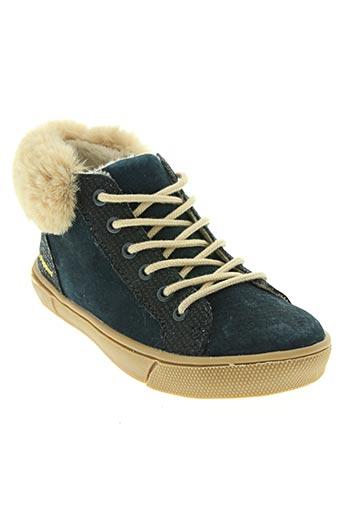 hush puppies chaussures fille de couleur bleu