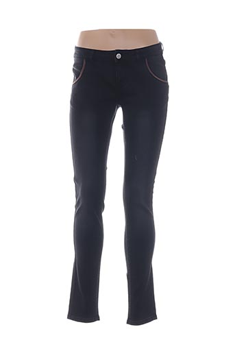 Jeans coupe slim noir ESPRIT pour fille