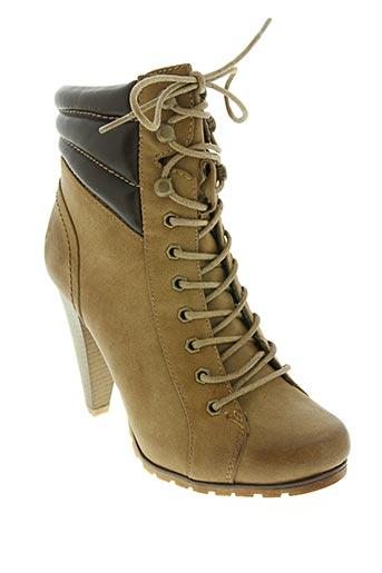 kayla chaussures femme de couleur marron