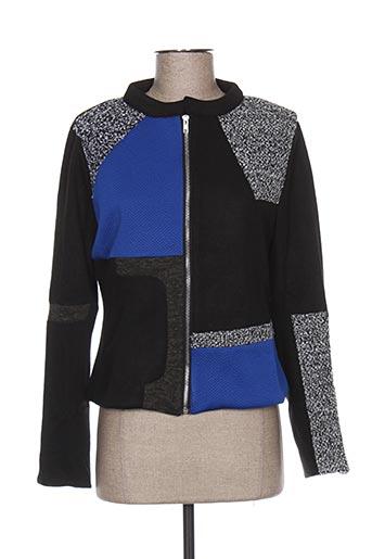 Veste casual bleu BAMBOO'S pour femme