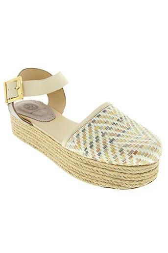 reve d'un jour chaussures femme de couleur beige